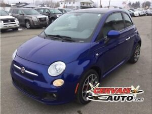 Fiat 500 Sport Toit Ouvrant Cuir/Tissus MAGS 2012