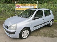 Renault Clio 1.2 Expression 16V 5DR (moondust) 2004