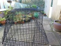 USED Car Dog Cage