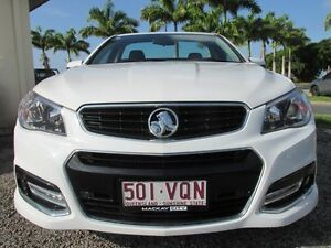 2015 Holden Ute VF MY15 SV6 Ute Storm White 6 Speed Sports Automatic Utility Mackay Mackay City Preview