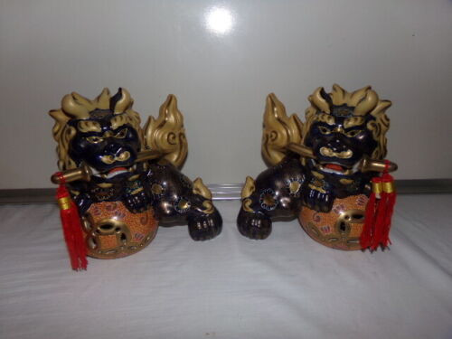 Pair of Foo Dogs by Gump