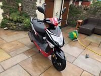 2017 50cc Lexmoto Moped