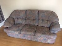 Free armchair and three seater settee