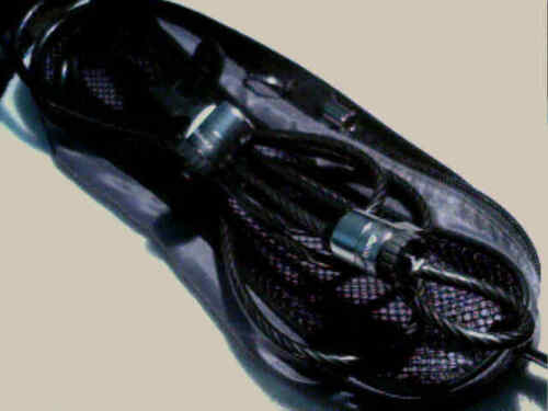 Lenovo  Kensington Twin Head Cable Lock--one key; in carrying bag