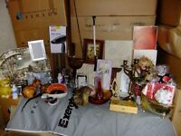 We buy Bric a Brac, small household items, books etc