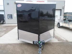 IN STOCK SPECIAL 2016 HAULIN 7X16' ENCLOSED CARGO - LOWEST PRICE London Ontario image 2