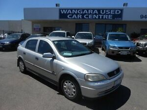 2001 Holden Astra TS Equipe Silver 5 Speed Manual Hatchback Wangara Wanneroo Area Preview