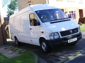NO VAT VW LT 35 2.5 TDI LWB WITH HYDRAULIC TAIL LIFT, LONG M.O.T. NO SPRINTER, TRANSIT IVECO DUCATO