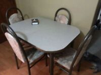 NEED GONE Dining table With extension and 6 chairs