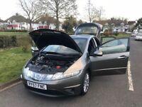 Honda Civic 1.8 i-VTEC SE 5dr HPI CLEAN+1YEAR MOT+2 keys +excellent condition