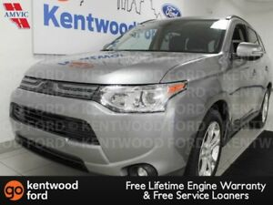 2014 Mitsubishi Outlander GT 4WD, NAV, sunroof, heated power lea