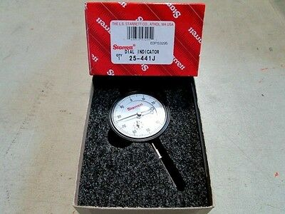 Starrett 53295 25-441j Dial Indicator Universally Fitting New In Box