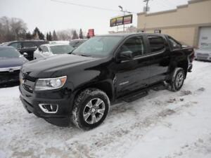 Chevrolet Colorado 2018 Z71-CREW-4X4-GPS-V6-Rack a vendre