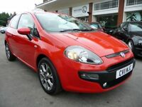FIAT PUNTO EVO 1.4 GP 3d 77 BHP (red) 2011