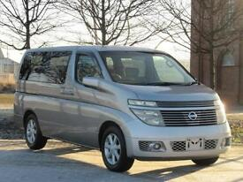 NISSAN ELGRAND E51 AUTOMATIC V 70TH 2 * 8 SEATS * ONLY 55000 MILES