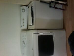 White washer and front load dryer,Excellent deal!
