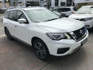 2019 Nissan Pathfinder R52 MY19 Series III TI (2WD) White Continuous Variable Wagon Rockdale Rockdale Area Preview