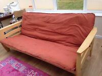Sofa bed - hardly used. Bargain £40
