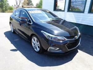 2018 Chevrolet Cruze Premier for only $165 bi-weekly all in!