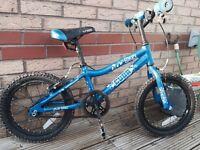 """Boys 16"""" Blox Cuda Bike Blue"""