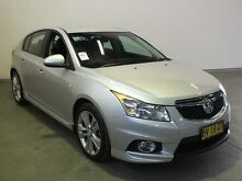 2015 Holden Cruze JH MY14 SRi V Silver 6 Speed Automatic Hatchback Westdale Tamworth City Preview