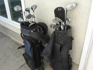 MANS - RH - GOLF CLUB SET - - ( 2 ) SETS - -