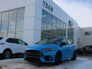 2018 Ford FOCUS RS RS, SYNC3, NAV, POWER MOONROOF, REAR CAMERA,