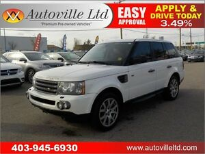 2008 RANGE ROVER SPORT HSE NAVI LEATHER ROOF