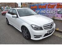 FINANCE AVAILABLE GOOD BAD OR NO CREDIT**MercC Class 1.6 C180 AMG 7G-Tronic Plus 4dr £299 PCM