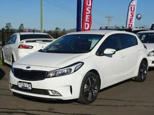 2018 Kia Cerato YD MY18 Sport White 6 Speed Sports Automatic Hatchback Albion Park Rail Shellharbour Area Preview