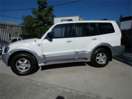 2004 Mitsubishi Pajero NP GLS White Sports Automatic Wagon