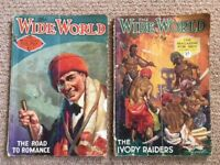The Wide World magazines from 1925 and 1927