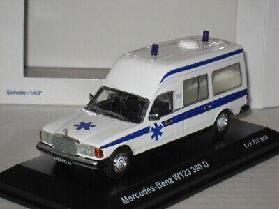 Norev Ambulance Mercedes Benz W123 300D Limited 1 of 750 Krankenwagen 1/43 Rare