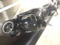 Piaggio Vespa GTS 300 2010 black *** Viewing also possible at Hayes Kent ***
