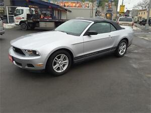 2012 Ford Mustang Decapotable Premium*Finacement $0