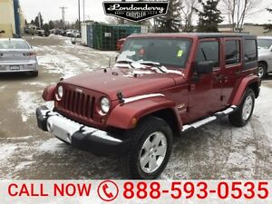 2011 Jeep Wrangler Unlimited 4WD SAHARA UNLIMITED