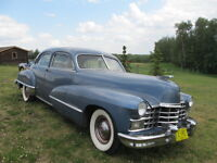 Selling by Auction a 1946 Cadillac 4dr Car