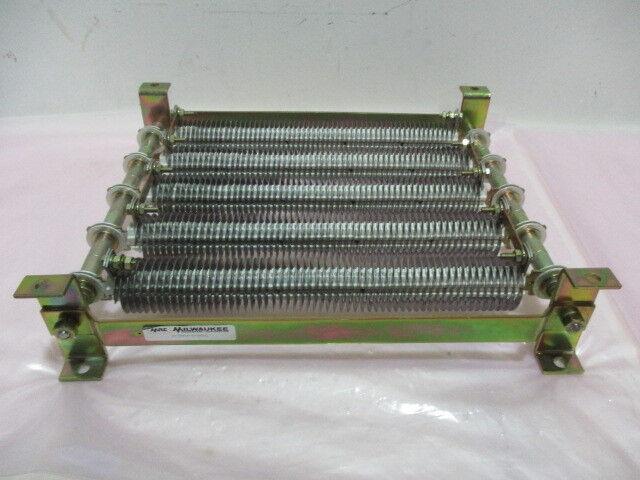 MRC 42-340121-5-000032 Resistor Bank, 60 OHM, 5 KW, 10% Frame, HE3, 417013