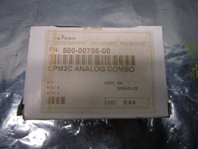 Omron CPM2C-MAD11 A/D D/A Unit, AMAT 500-00756-00 CPM2C Analog Combo, 398361