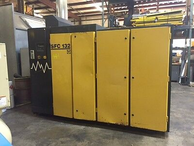 Kaeser Sfc 132 Air Compressor 460v 812cfm110psig Full Service Variable Freq