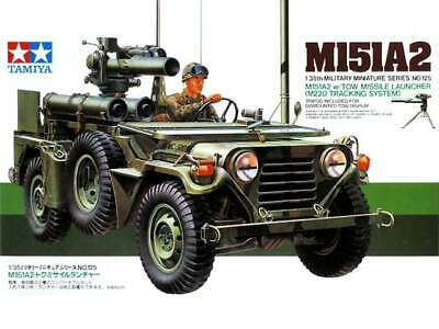 Tamiya 1/35 M151A2 W/Tow Missile 35125 Military Model Kit