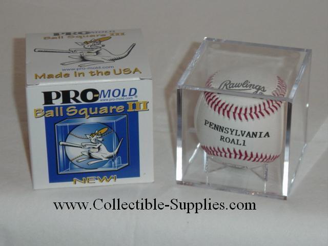 24 PRO-MOLD BALL SQUARE III BASEBALL BALL CUBE HOLDERS
