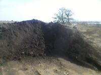 Good quality screened topsoil for sale can deliver