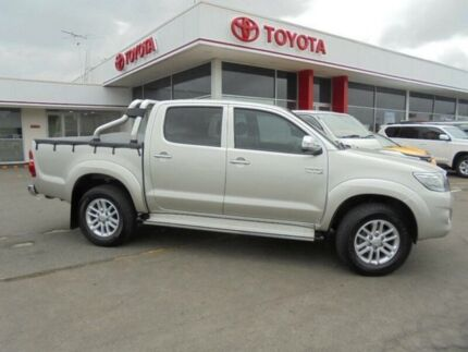 2014 Toyota Hilux KUN26R MY12 SR5 (4x4) Sterling Silver 4 Speed Automatic