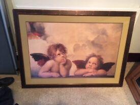 Framed Extra Large Angels