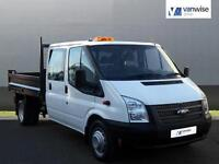 2014 Ford Transit 350 DRW Diesel white Manual