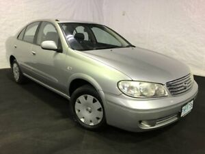 2005 Nissan Pulsar N16 MY2004 ST Silver 4 Speed Automatic Sedan Derwent Park Glenorchy Area Preview