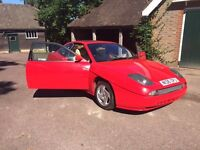Stunning Red Fiat Coupe For Sale. MOT JUNE 2017 NO ADVISORIES. Cream Leather. Cam belt just done