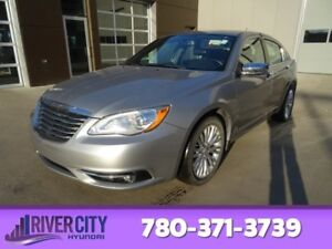 2014 Chrysler 200 LIMITED Leather,  Heated Seats,  Bluetooth,  A
