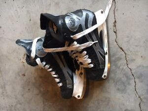 Various hockey equipment
